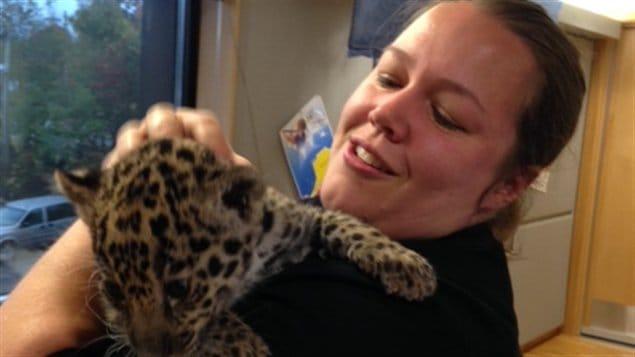 Bébé Jaguar et Michelle Leblanc