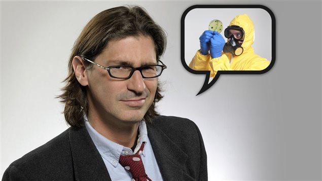 Jean-René Dufort rend hommage au virus Ebola