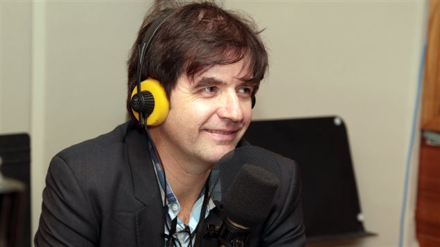 Le chroniqueur techno Martin Lessard