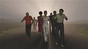 De la musique pour les marches de zombies