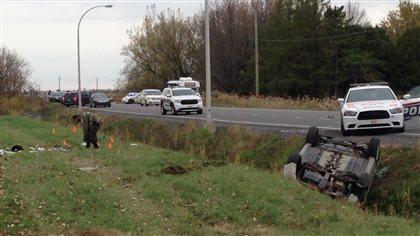 Deux militaires happés par une voiture à Saint-Jean-sur-Richelieu