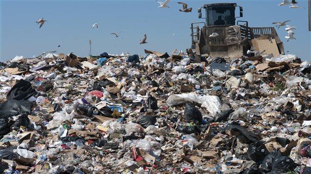 Des déchets à perte de vue dans nos dépotoirs modernes
