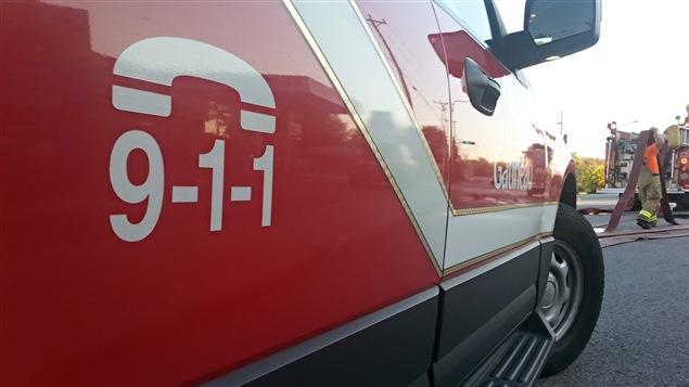Un camion du Service de sécurité incendie de Gatineau (archives)