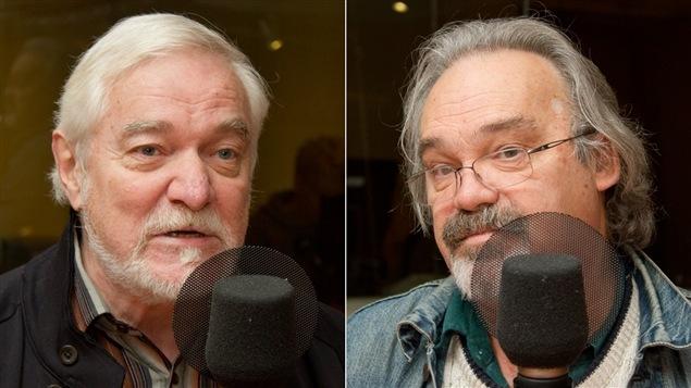 Le comédien et directeur artistique du Théâtre Jean-Duceppe, Michel Dumont, et le dramaturge Jean-Marie Dalpé