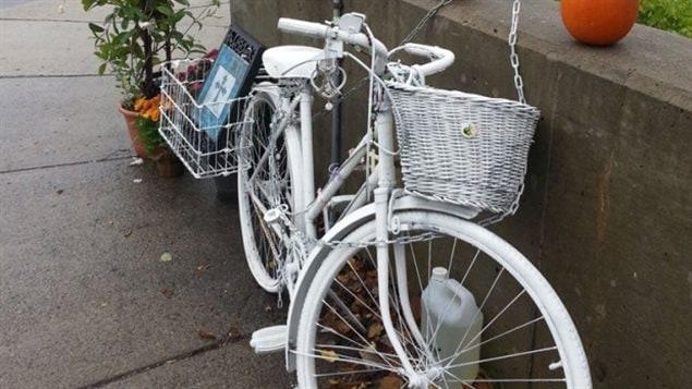 Le vélo fantôme d'Ottawa