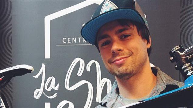 Frédérick Gates, fondateur de la nouvelle équipe masculine de cyclisme sur route de niveau national de l'Outaouais.