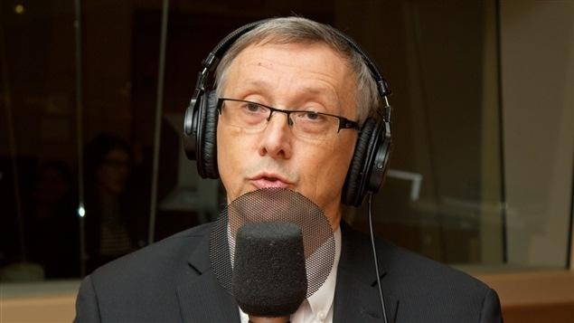 Le directeur général du Collège Jean-de-Brébeuf, Michel April