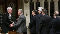 Ce qui s'est passé à l'intérieur du parlement à Ottawa