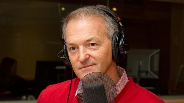 L'analyste sportif et auteur Dany Dubé