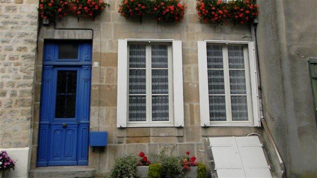 La maison d'enfance de Jeanne-Mance, au 11, rue Barbier d'Aucourt, à Langres, en France