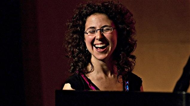 La pianiste de jazz, Marianne Trudel.