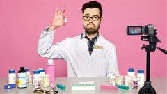 La photo de la couverture du livre <em>Le pharmachien</em>