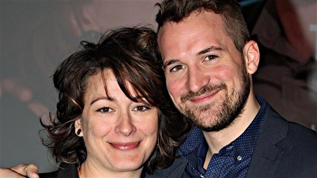 Anick Lemayet Jean-Philippe Perras interprètent un couple dans la série « Toi et moi ».