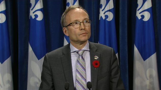 Martin Coiteux, président du Conseil du Trésor