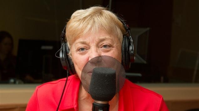 La journaliste, ex-animatrice et auteure Jocelyne Cazin
