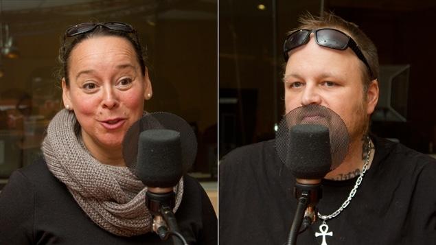 Marie-Josée Lamoureux et Patrick Sabourin, d'APPA Paranormal