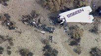 Un avion spatial de Virgin Galactic explose dans le désert californien