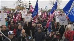 Mobilisation syndicale contre le projet de loi 3 lundi