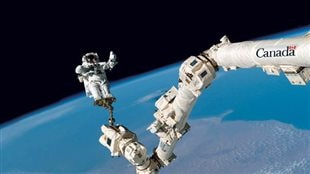 L'Agence spatiale canadienne désolée d'avoir retouché une photo du bras spatial