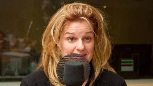 La comédienne et metteure en scène Sylvie Moreau