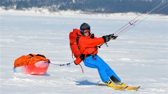 L'explorateur Frédéric Dion