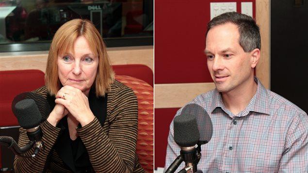 La Dre Marie-France Raynault et François Michaud