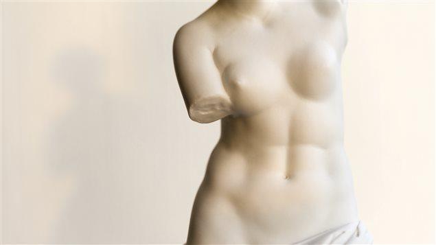 Une copie de la Vénus de Milo