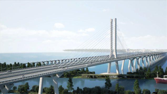 Futur pont Champlain