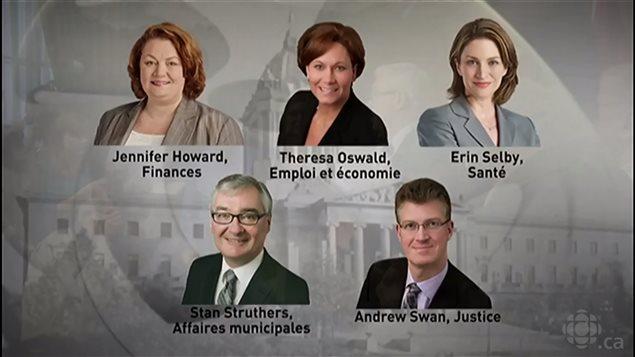 Los cinco ministros contestatarios