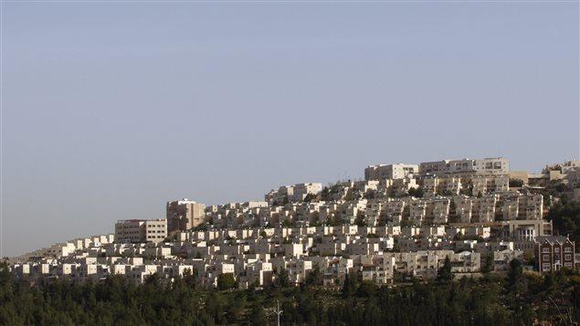 La colonie juive Ramat Shlomo