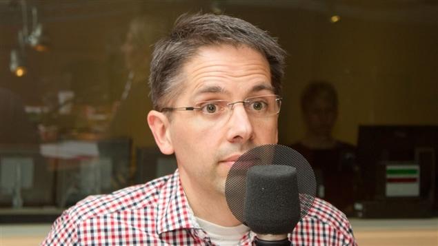 Le physiothérapeute et auteur Denis Fortier