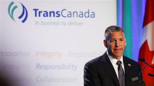 Le directeur général de Transcanada, Russ Girling (Archives)