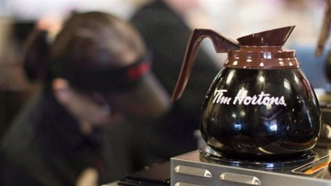 Restaurant Tim Hortons (Chris Young/Presse canadienne)