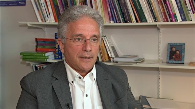 Le directeur du Département des sciences sociales de l'Université du Québec en Outaouais, Martin Robitaille