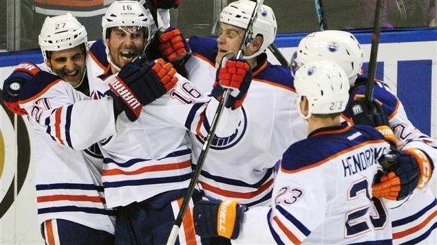 Boyd Gordon fait gagner les Oilers