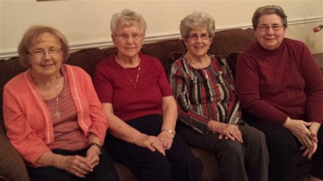 Jacqueline, Rosa, Jeanne et Noëlla