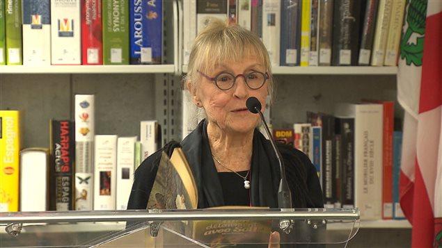 La comédienne Françoise Graton