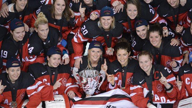 Les Canadiennes remportent le tournoi des Quatre Nations