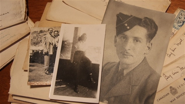 Lettres du mari de Rita Coderre, l'ex-soldat antoine Léger