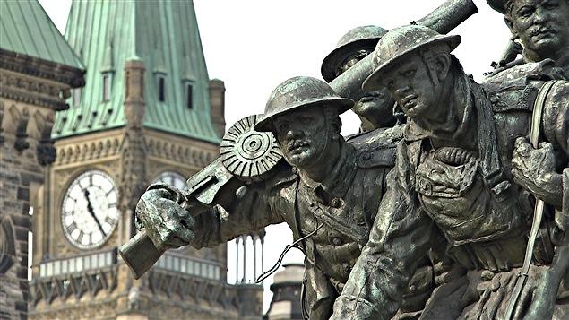Monument commémoratif de guerre du Canada à Ottawa