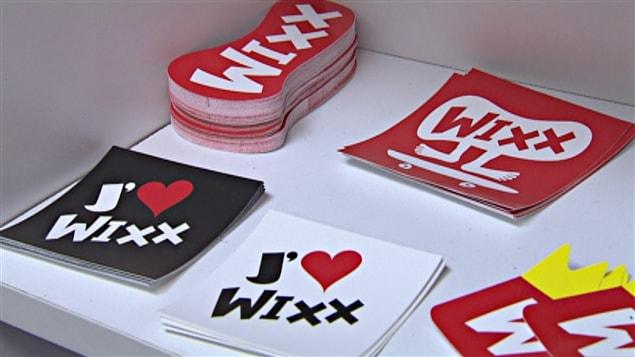 autocollants WIXX