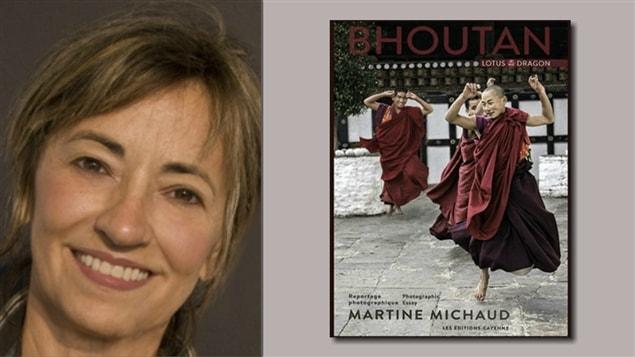Martine Michaud présente son ouvrage - «Bhoutan, lotus et dragon».