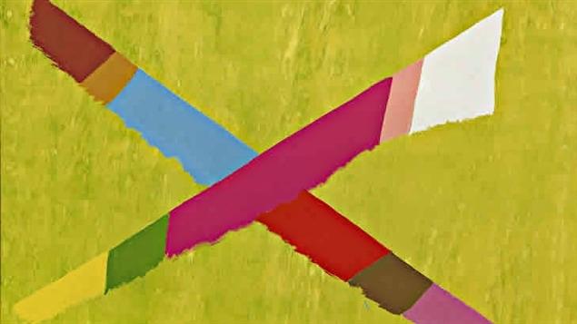 Une peinture de l'artiste canadien, Jack Bush.