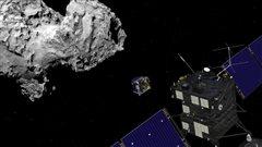 Rosetta et la comète Philae