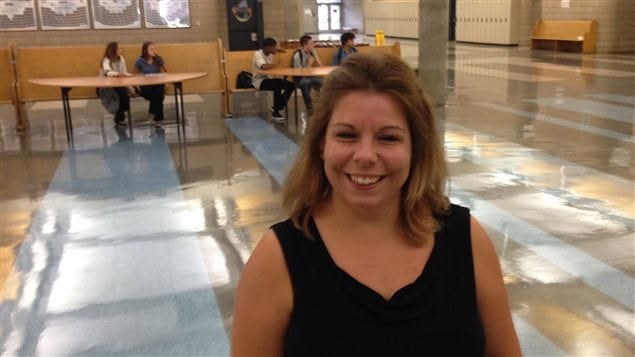 Marie-Claude Hogue est éducatrice spécialisé à l'École secondaire Père-Marquette.