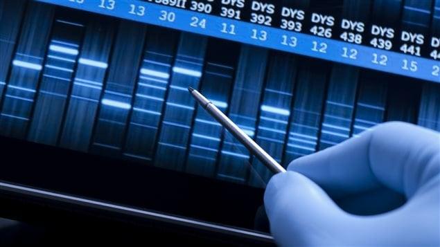 Un test ADN