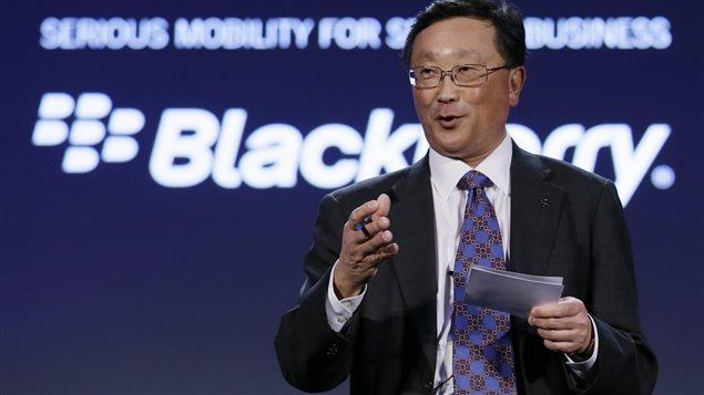 John Chen, nuevo PDG de BlackBerry.