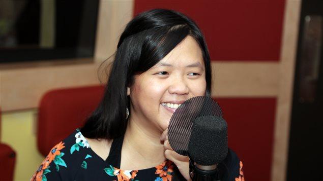 La journaliste scientifique Binh An Vu Van