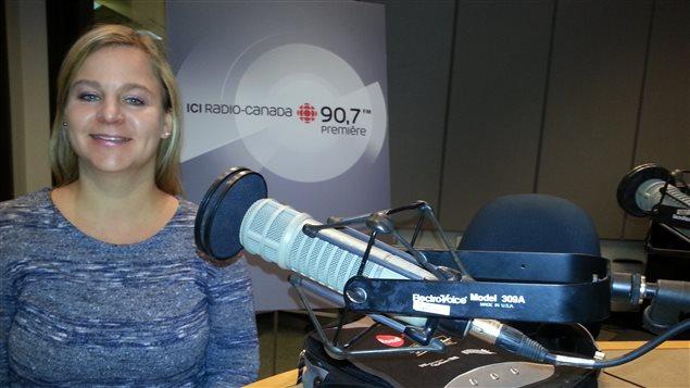 Nadia Bolduc, agente de relation humaine pour le Centre de réadaptation en dépendance de l'Outaouais