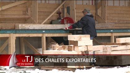 Des chalets « faits en Gaspésie » - Radio-Canada